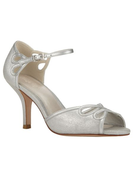 Phase Eight Marley suede peep toe