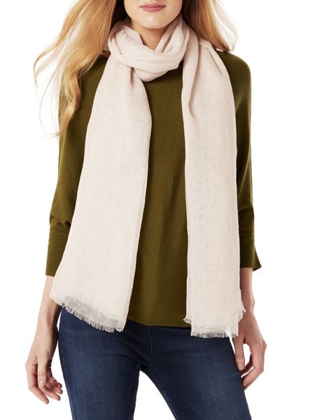 Phase Eight Lulu Linen Pashmina