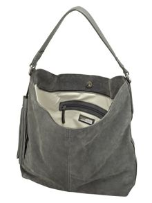 Phase Eight Harper suede hobo bag