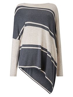 Stripe melinda knit jumper