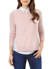 Phase Eight Madilyn shirt knit jumper
