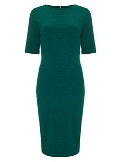Tamzin textured midi dress