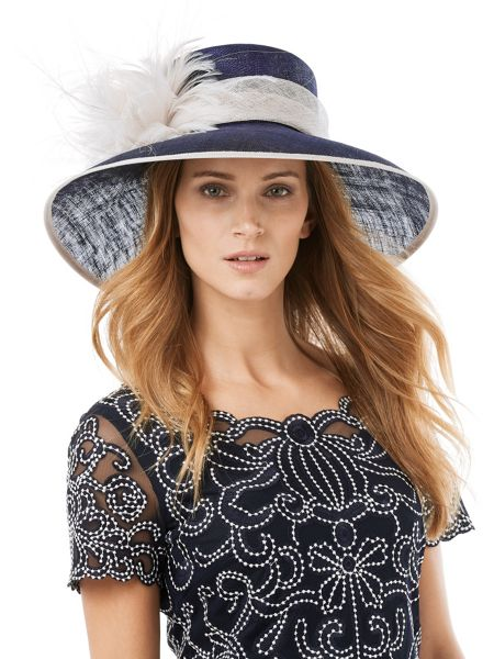 Phase Eight Gemma feather detail hat