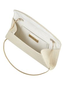 Phase Eight Sammy leather clutch bag