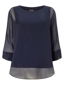 Cecilia silk blouse