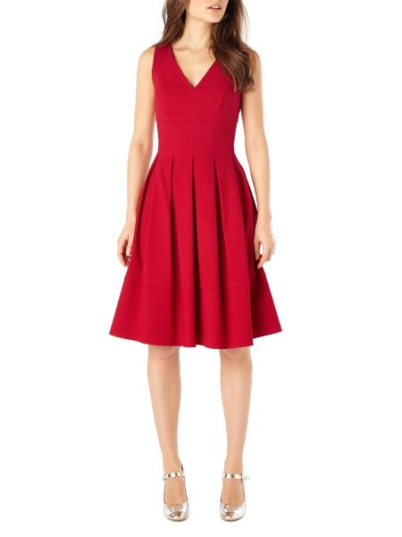 Phase Eight Mary pintuck dress