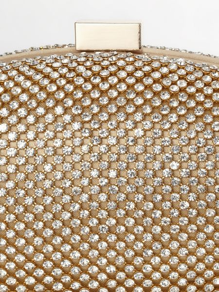 Phase Eight Julia crystal clutch