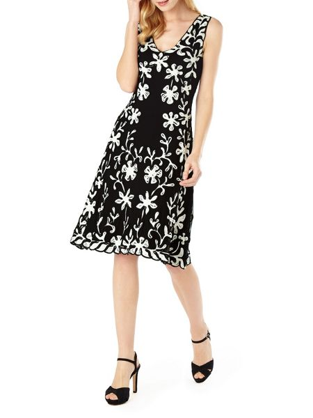 Phase Eight Daisy tapework dress