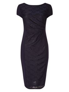 Allesandra textured dress