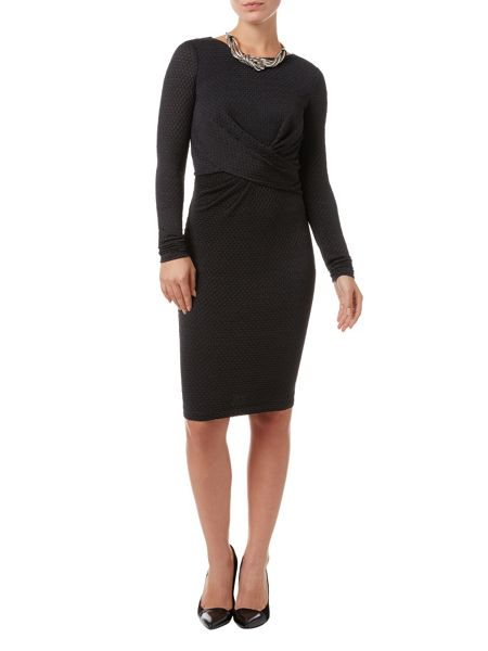 Phase Eight Latticia long sleeve dress