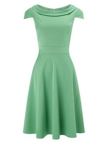 Nicola fit and flare dress