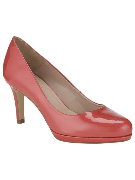 Phase Eight Amara leather court shoes