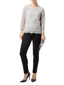 Marin crochet lace blouse