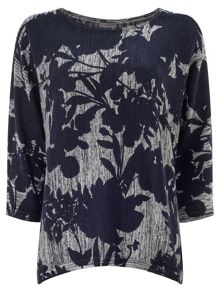 Phase Eight Mita print knit jumper