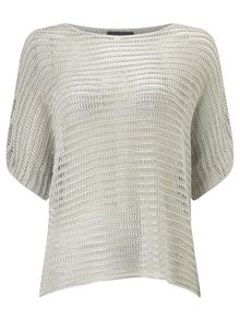 Phase Eight Maura metallic knit top