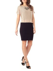 Phase Eight Nicki necklace knit dress