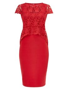 Phase Eight Lexus lace knit dress