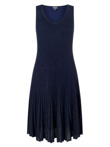 Phase Eight Petra Pleat Knit Dress