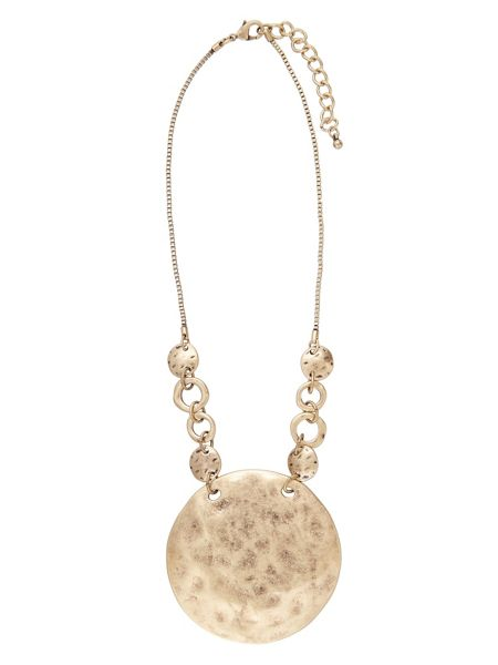 Phase Eight Elle disc necklace