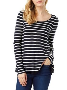 Phase Eight Cali-Anne Stripe Knit Top