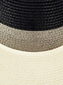 Phase Eight Sally stripe sunhat