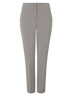 Erica basketweave trousers