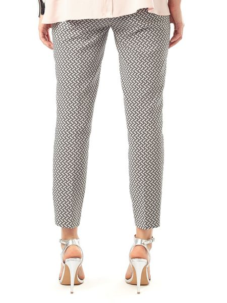 Phase Eight Erica basketweave trousers