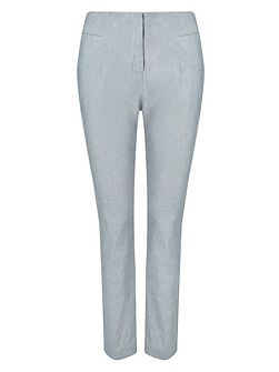 Nora Tapered Linen Trousers