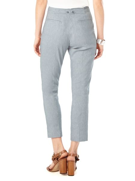 Phase Eight Nora Tapered Linen Trousers