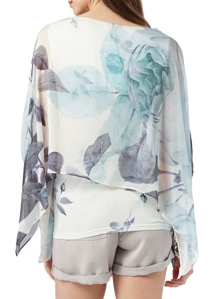 Phase Eight Chantay Rose Silk Blouse