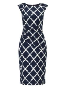 Phase Eight Diamond Print Dress