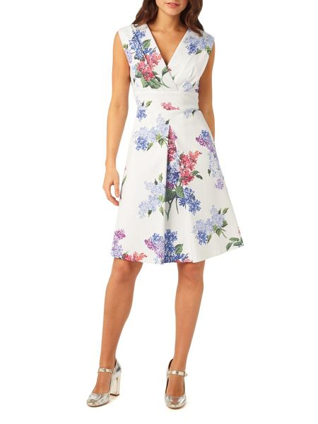 Phase Eight Lilac Flower Dress