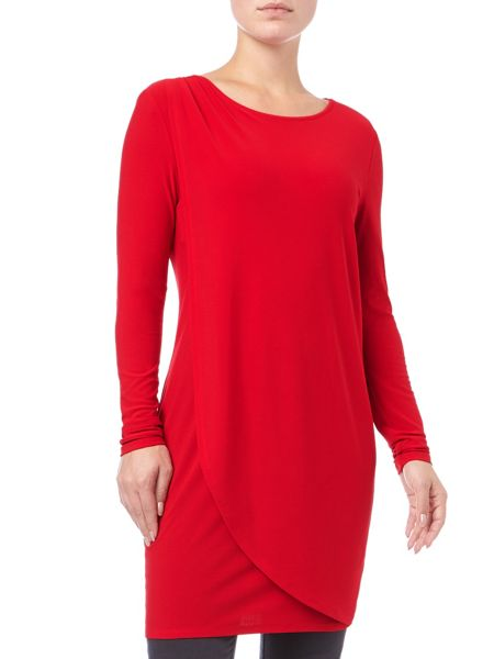 Phase Eight Dotty Draped Tunic