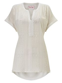 Eddie embroidered top