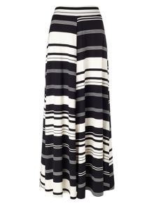 Phase Eight Kat stripe jersey maxi skirt
