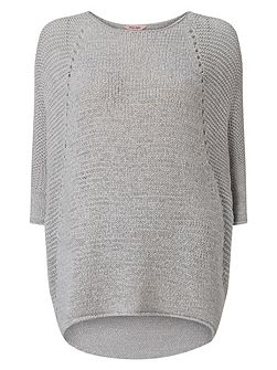 Tape yarn aideen knit jumper