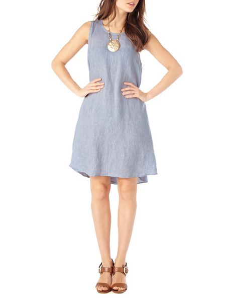 Phase Eight Bryony linen swing dress