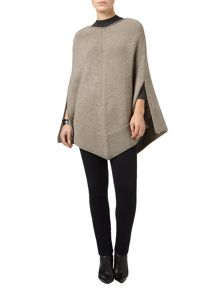 Phase Eight Lydia knitted poncho