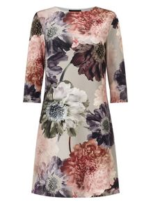 Phase Eight Deena digital floral tunic dress