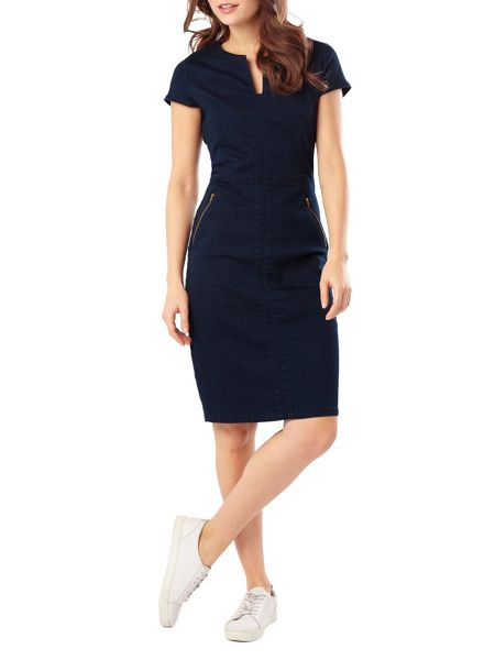 Phase Eight Magda denim dress