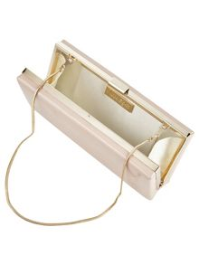 Phase Eight Amara leather clutch bag