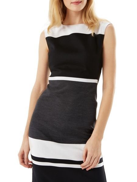 Phase Eight Blanche Colourblock Dress