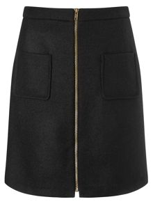 Phase Eight Drue Wool Skirt