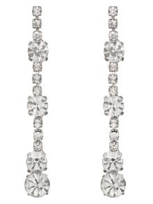 Kiera crystal drop earrings