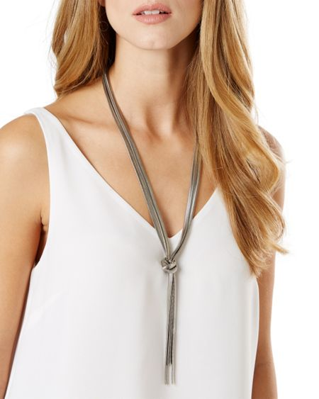 Phase Eight Leila knot necklace