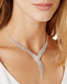 Phase Eight Shelley drop crystal necklace
