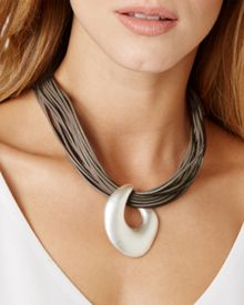 Phase Eight Madison leather necklace