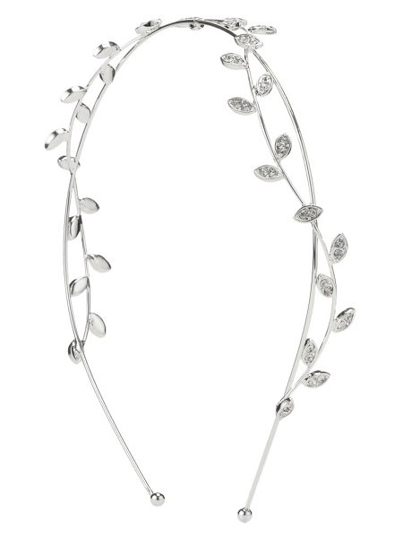 Phase Eight Maisy crystal leaf headband