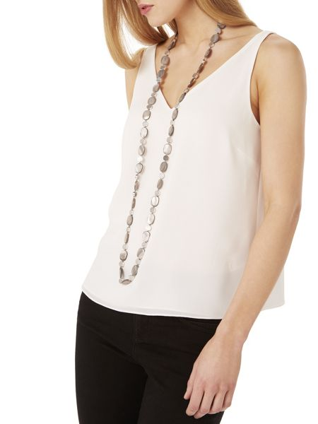 Phase Eight Rayne shell necklace