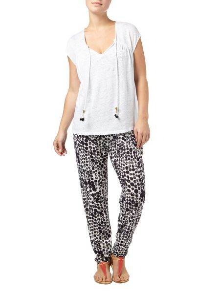 Phase Eight Abellona spot jersey trousers